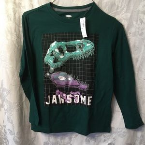 Jawsome-Dinosaur shirt-NEW-Old Navy-Boys 8